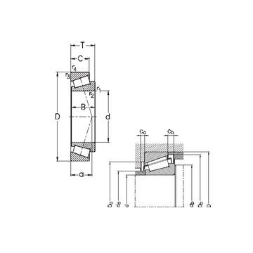 HM 89446/2/410/2/QCL7C Ρουλεμάν με κυλίνδρους
