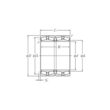 4T-15100/15245 Ρουλεμάν με κυλίνδρους