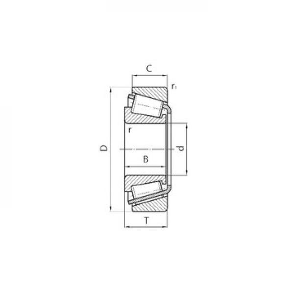 HM515749/HM515716 Ρουλεμάν με κυλίνδρους #1 image